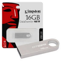 KINGSTON FLASHDRIVE DT-SE9H METAL 16GB
