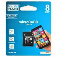 GOODRAM MICROSD 8 GB CLASSE 4