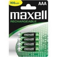 MAXELL BATTERIA RICARICABILE NI-MH R3 (AAA) 840MAH BLISTER DA 4