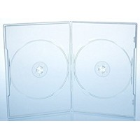 CUSTODIA AMARAY DVD SLIM DOPPIA CLEAR 7MM