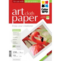 CARTA FOTOGRAFICA A4 COLORWAY ART GLOSSY CLOTH 230G 10FOGLI