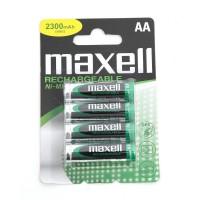 MAXELL BATTERIA RICARICABILE NI-MH R6 (AA) 2300MAH BLISTER DA 4