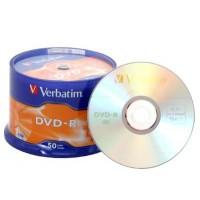 VERBATIM DVD-R 16X 50 TUB