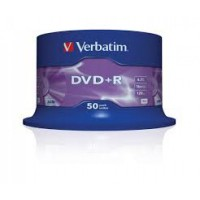 VERBATIM DVD+R 16X 50TUB 200 BOX