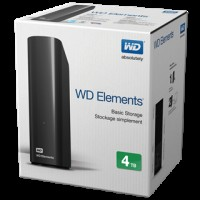 WD ELEMENTS HARD DISK ESTERNO 4TB 3.5""