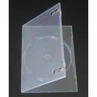 CUSTODIA DVD SLIM SINGOLA CLEAR 7MM AMARAY