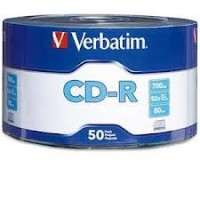 VERBATIM CDR 52X 50 CELL 600 BOX