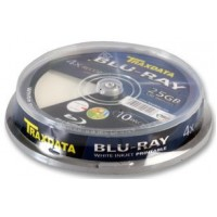 TRAXDATA BLU-RAY 25GB PRINTABLE 10 TUB
