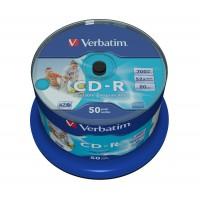 VERBATIM DATALIFE CD-R PRINTABLE CB 50